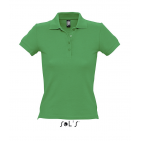 PEOPLE WOMEN'S POLO SHIRT Kelly Green