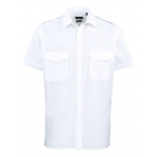 MEN'S SHORT SLEEVE PILOT SHIRT