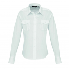 LADIES' LONG SLEEVE PILOT SHIRT